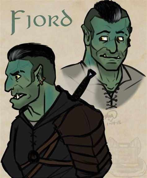 criticalrole fjord critical role t critical role fan art - Fjord Fan Art