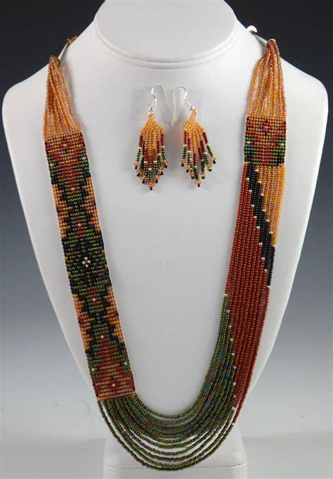 navajo beaded necklace navajo beaded necklace rena charles