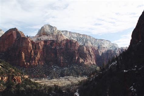 winter hikes  zion national park salty spaces