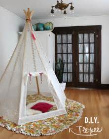 Make My Own Jewelry - make your own play teepee a beautiful mess