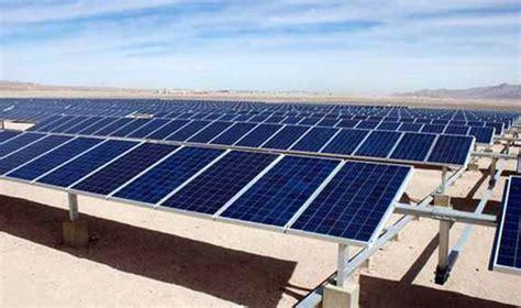 american sun solar company sunedison will finance america largest solar power plant in atacama revista nueva