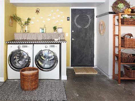 Laundry Room In Garage Decorating Ideas 7 Diy Ideas For A Laundry Nook In The Garage And 3 Things I Wouldn T Repeat