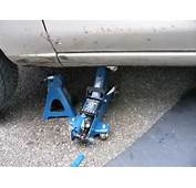 Lift A Car Safely Using Jack And An Axle Stand  YouTube