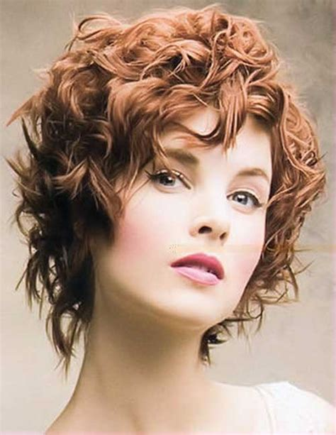 curly hairstyles permed hair 15 curly perms for short hair short hairstyles 2017