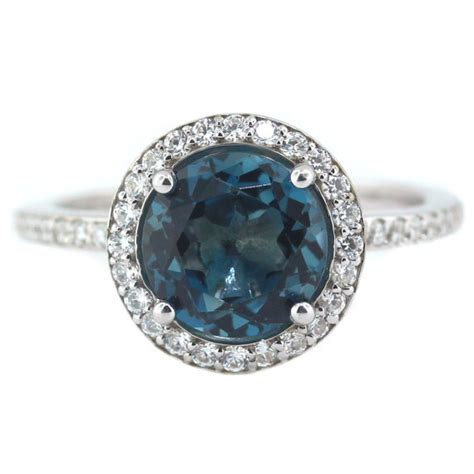 engagement rings blue topaz engagement rings style