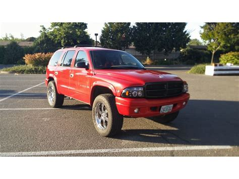 used 1999 dodge durango for sale by owner in eugene or 97440