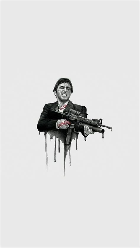 tony montana wallpaper tony montana en  scarface poster al pacino  screen wallpaper
