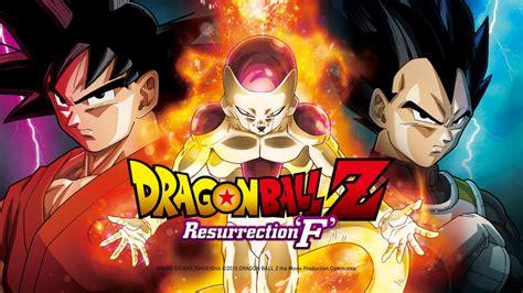 filme schauen dragon ball z dragonball z resurrection f bei anime on demand online