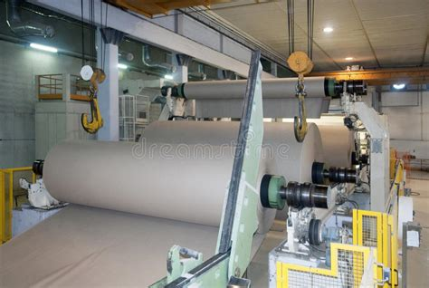 paper and pulp mill stock paper and pulp mill fourdrinier machine stock image image 11874511