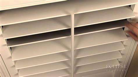 tilt shutter vinyl re attaching the tilt bar on the eclipse shutter