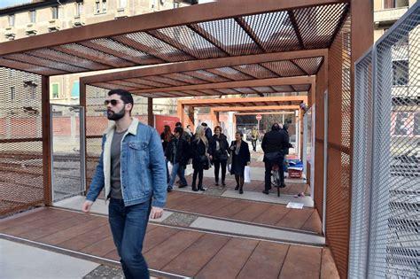 ristorante porta genova inaugurata la passerella di porta genova corriere it
