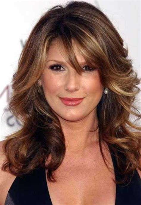 hairstyles for in their 40s 15 best of long hairstyles for women in their 40s