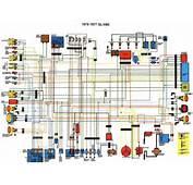 Category Honda Tags Circuit Diagram  GL1000 Wiring