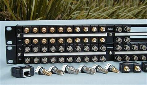 Rack Mount Coax Splitter by Azton Technologies Connectivity And Interface Solutions