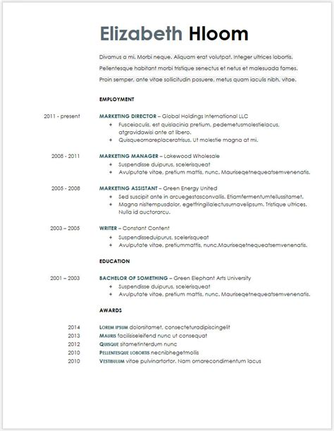 resume sample word doc oyle kalakaari co