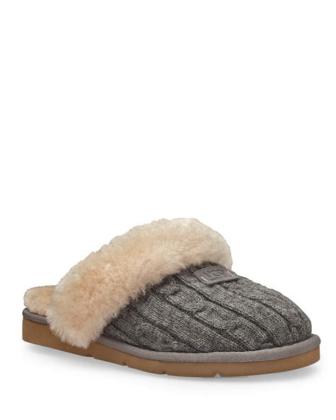cosy knit ugg slippers ugg 174 australia quot cozy quot knit slippers bloomingdale s