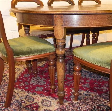 circular oak dining table oak circular extending dining table antiques atlas