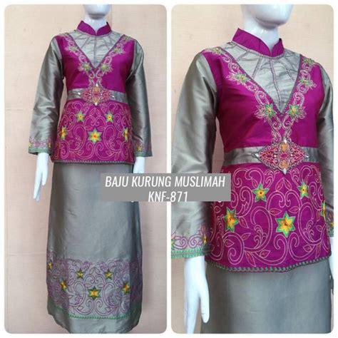 Setelan Kebaya Baju Kurung Rvy1150 by 18 Model Baju Kurung Modern Untuk Remaja Elegantria