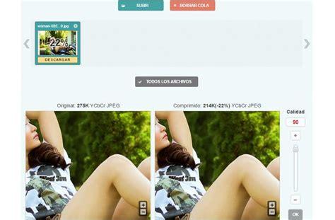 optimizar imagenes web online optimizilla utilidad web gratuita para optimizar im 225 genes