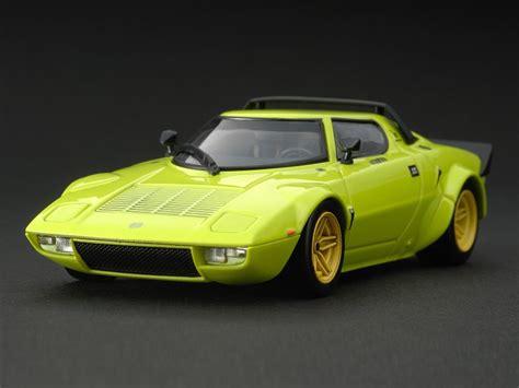 Lancia Sratos 8069 Lancia Stratos Hf Green