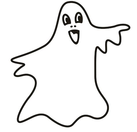 cartoon ghost coloring pages ghost pictures for kids clipart best