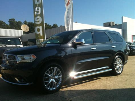 new 2014 dodge durango citadel suv for sale in el dorado