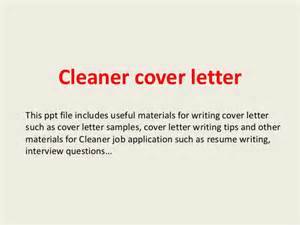 Carpet Technician Cover Letter by Cleaner Cover Letter
