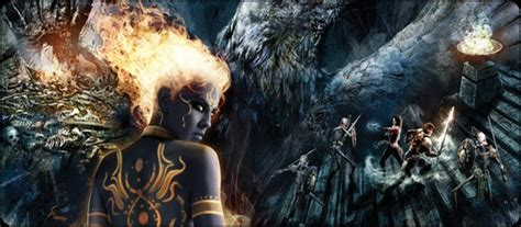 dungeon siege 3 anjali ps3 review dungeon siege iii