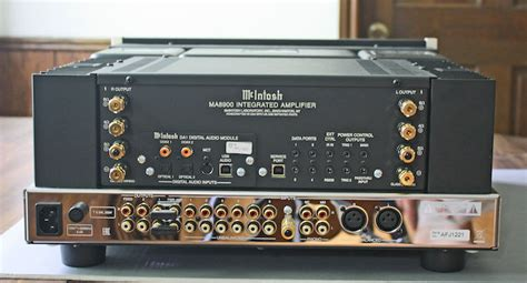 mcintosh ma stereo integrated amplifier review cheap