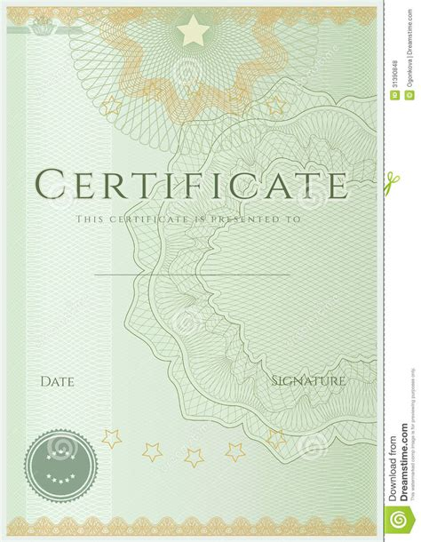 pattern background for certificate certificate diploma background template pattern royalty