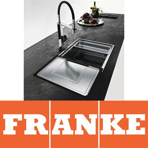 franke kitchen sinks and taps franke centinox 1 0 bowl silk stainless steel kitchen sink