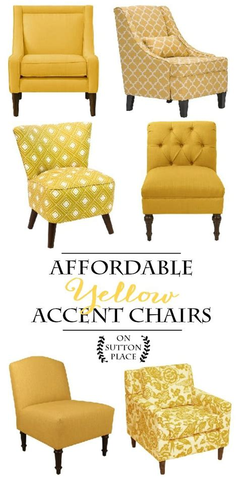 Armchair Yellow Design Ideas Best 25 Yellow Accent Chairs Ideas On Pinterest Hay About A Chair Hay Chair And Living Room