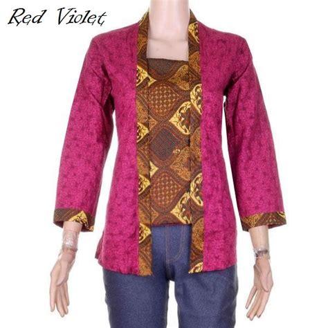 Baju Unik Bp1 Merah Blouse Kaos Maternity T Murah baju atasan wanita blus model kebaya kutubaru embos