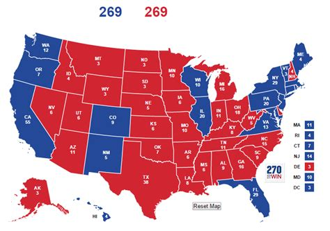 how many swing states are there why can t tv shows create an electoral map that makes