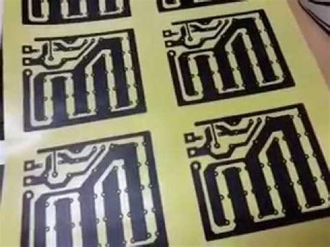 Kertas Transfer Pcb By Eka cetak pcb dengan transfer paper kertas ajaib