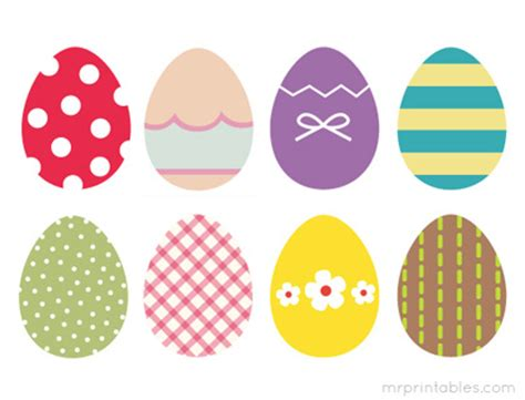 printable pictures easter eggs free printable for your easter party