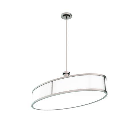 oval drum pendant light contemporary oval drum crenshaw lighting