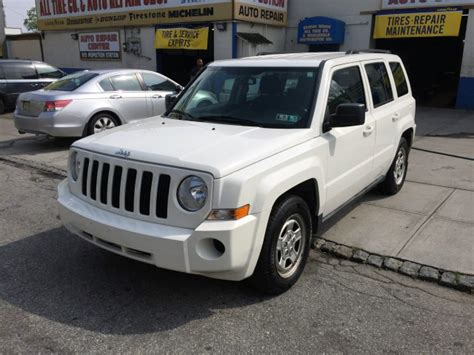 2010 Jeep Patriot For Sale Used 2010 Jeep Patriot Sport 4dr Suv 7 390 00