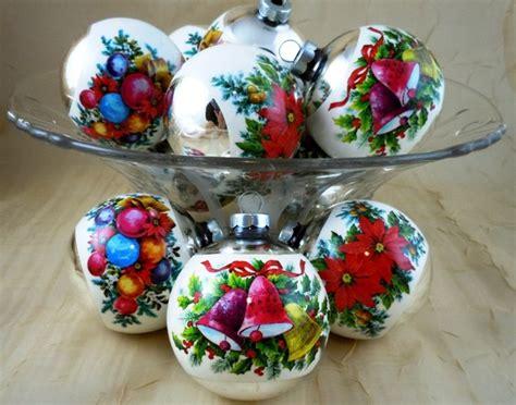 vintage ornaments vintage mercury glass christmas ornaments help i