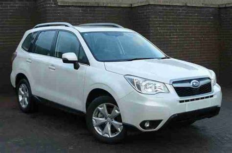 white subaru forester 2015 subaru 2015 forester d xc premium diesel white manual car