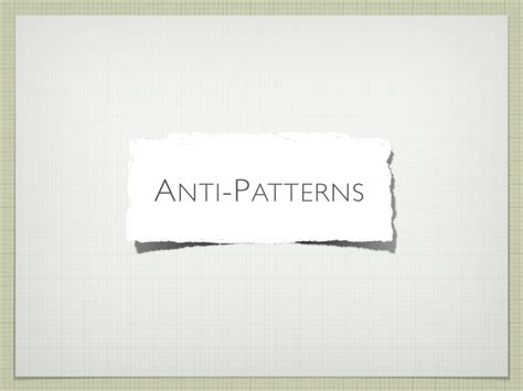 anti pattern trading anti patterns