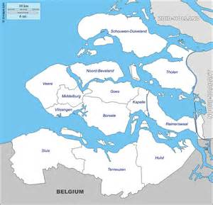 Zeeland free map free blank map free outline map free base map