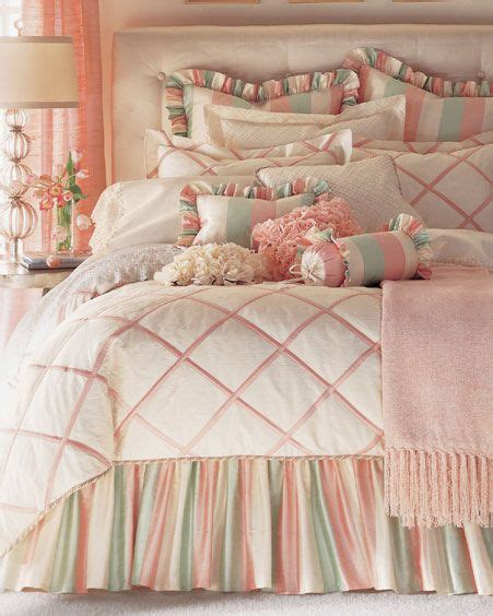 peach bedding cream peach mint green pinned from pinto for ipad bed bedding find rest oh my soul