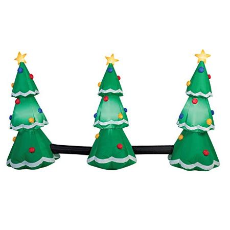 gemmy light show trees gemmy 39498 3 tree light show fabric multicolored walmart
