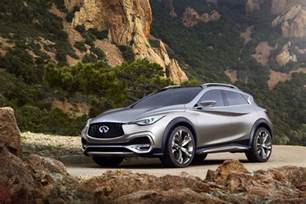 Infinity Small Suv Infiniti Qx30 Concept Small Luxury Suv Previews 2016