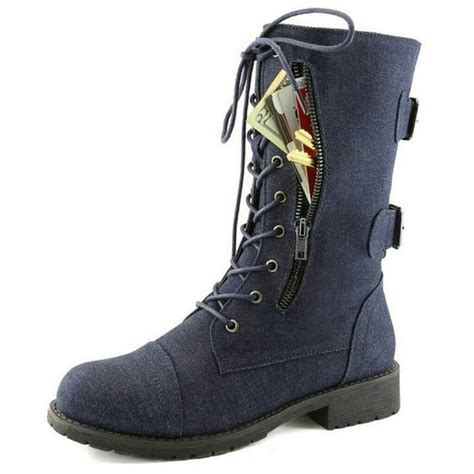 boots with pockets 59 hellolucy boutique shoes denim combat boots with