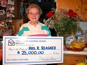 Publishers Clearing House Make A Payment - 12 24 05 celina woman receives visit from prize patrol