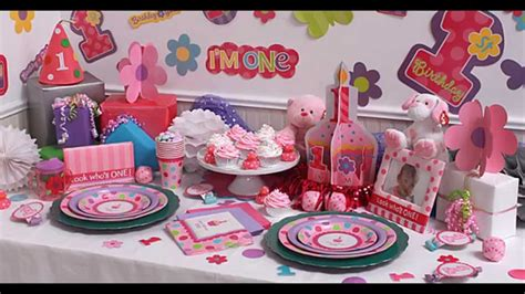 1st birthday decoration at home girls 1st birthday party themes decorations at home ideas