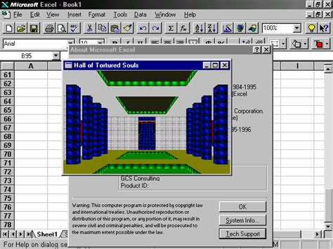 microsoft easter eggs look back at microsoft excel easter eggs page 4