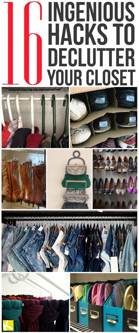 organize hacks best 20 closet hacks ideas on pinterest small closet